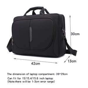 Image 1 - New Brand Laptop Bag 15 15.6 Inch Notebook Shoulder Bag  Handbag for Macbook Pro 15.4 Inch Business Bag for Man