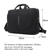 Nova marca bolsa para portátil 15 15.6 Polegada notebook bolsa de ombro para macbook pro 15.4 Polegada saco de negócios para o homem
