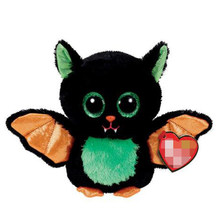 Ty Beastie the Bat Plush Animal Toys Stuffed Doll Gift 15cm(China)