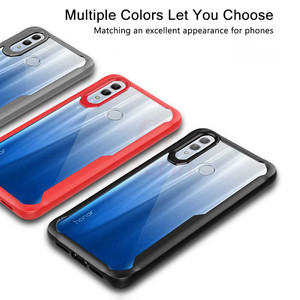 Image 5 - Case For Honor 10 Lite Case Shockproof Rugged Bumper Transparent Soft TPU Silicon Phone Protector Cover For Huawei P Smart 2019