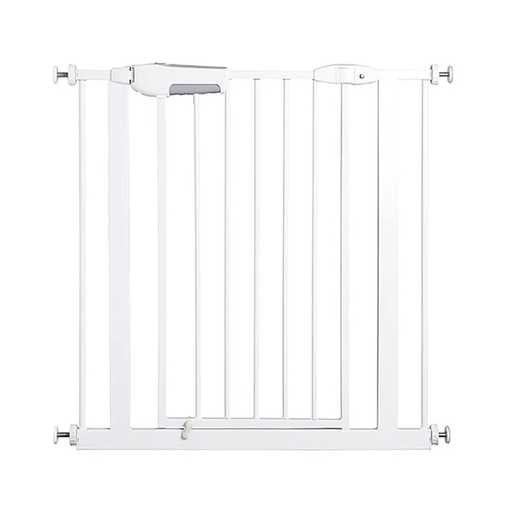 Easy Locking System Kids Baby Toddler Walk Through Safety Gate Door New-JA55