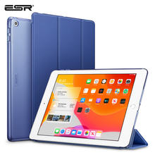 "ESR Case for iPad 7th Gen 10.2"" 10.2 Shockproof Ptotective Cover Trifold Smart Auto Sleep Wake Fold Stand Case for iPad 7 2019(China)"