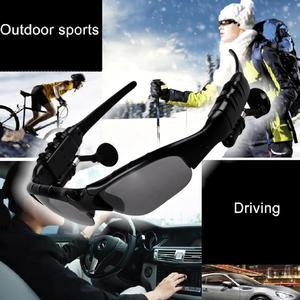 Men Outdoor Glasses Bluetooth Sunglasses Wireless Headphones Sports Listening To Songs Hands-Free Wireless Bluetooth Headset