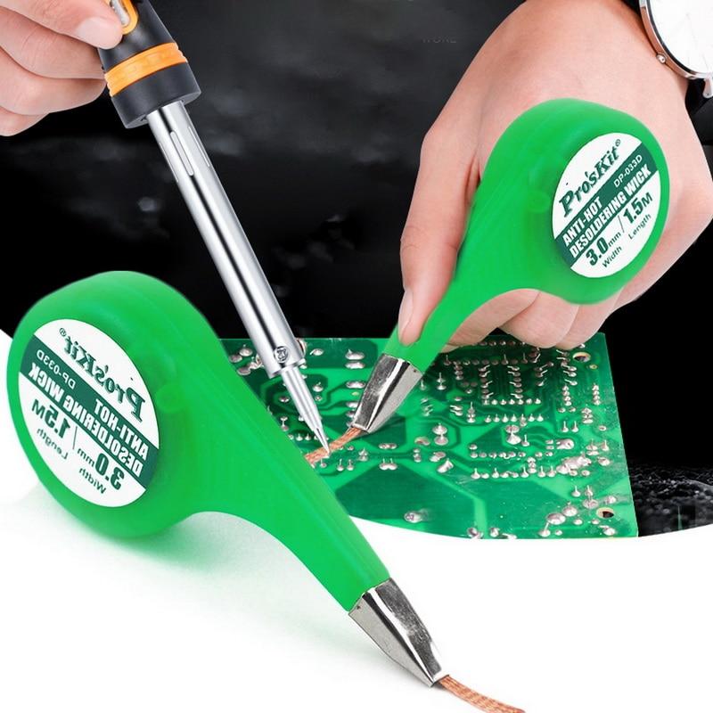 1pcs-desoldering-wick-braid-solder-wick-remover-sucker-with-thumb-wheel-dispenser