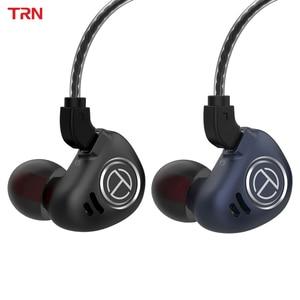 Image 1 - טורנירים V90 4BA + 1DD היברידי IEM 5 נהג Untis מתכת באוזן אוזניות אוזניות Auriculares HIFI צג ספורט ריצה שלב 2Pin V80