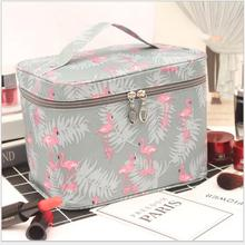 Travel Waterproof Portable Women Makeup Bag High Capacity Toiletries Organizer Storage Cosmetic Cases Zipper Wash Beauty Pouch