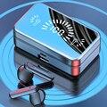 Беспроводные стереонаушники 9D, Bluetooth 5,2, TWS, с микрофоном, 3500 мАч, зарядный чехол, спортивные водонепроницаемые наушники-вкладыши, гарнитура