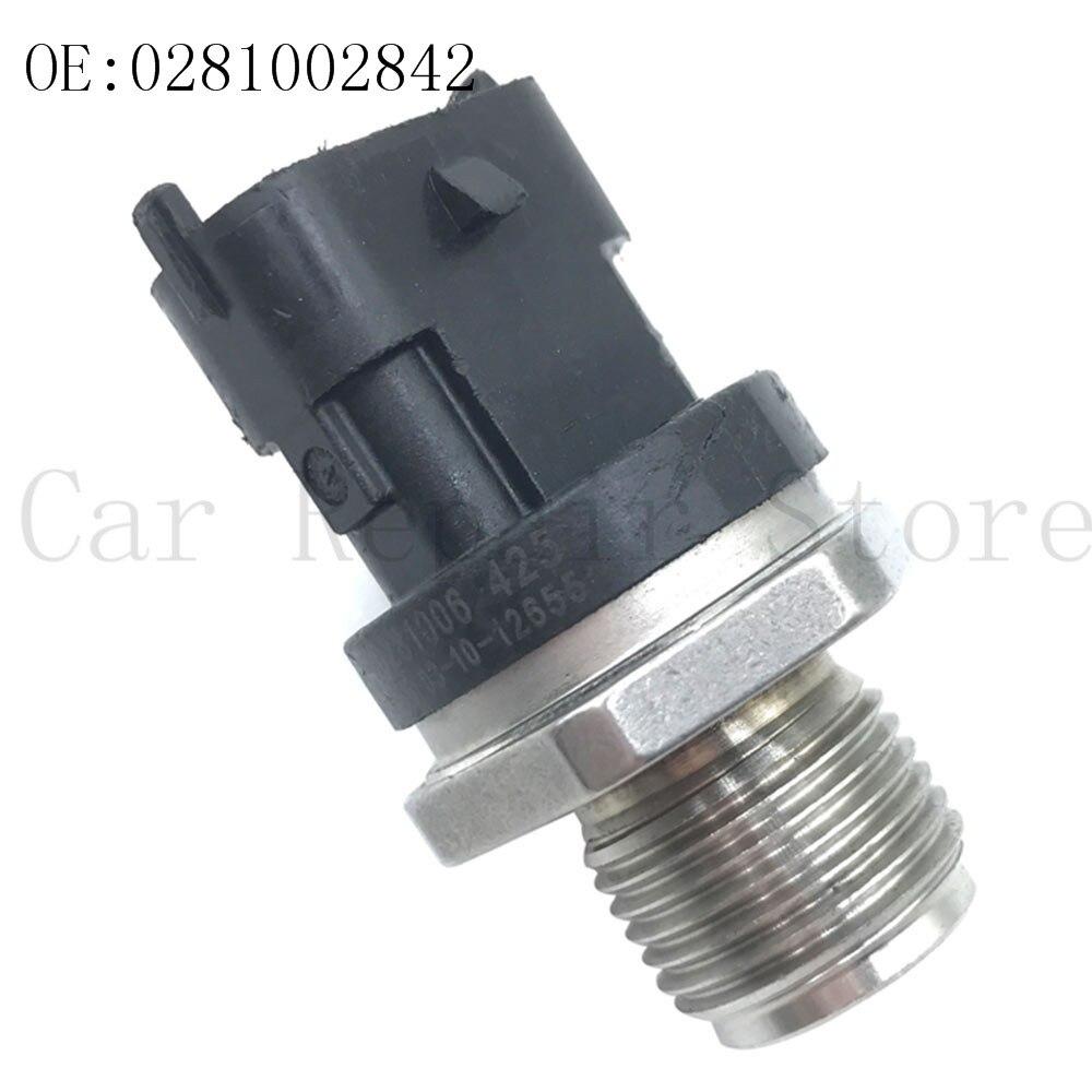 Capteur de pression d'injection de carburant 1 pièces 0281002842/0041536728/68032066AA pour mercedes-benz/Dodge