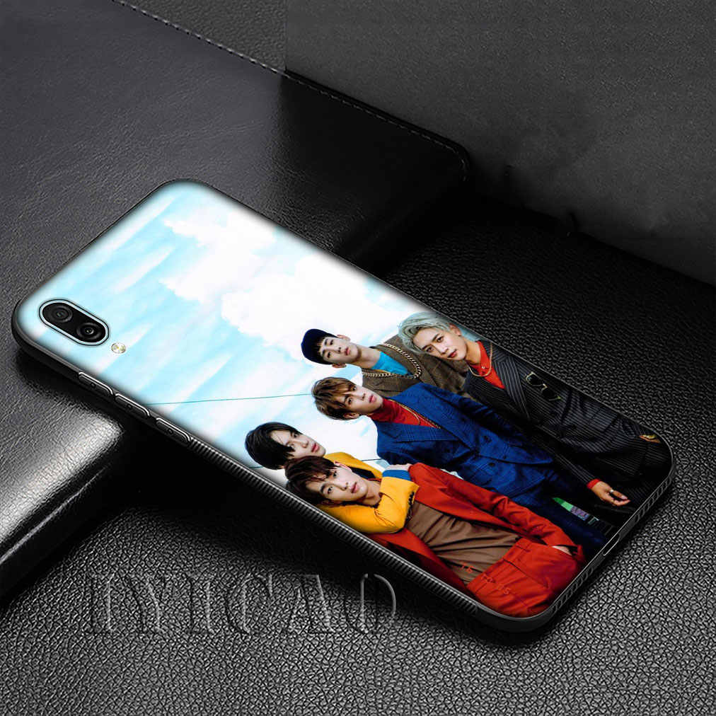 SHINee KPOP Boy กลุ่มซิลิโคนสำหรับ Huawei P30 P20 Pro P10 P9 Lite Mini 2017 2016 P สมาร์ท Z Plus 2019