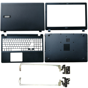 New Laptop LCD Back Cover/LCD Front bezel/LCD hinges/Palmrest/Bottom Case For Acer Aspire ES1-512 ES1-531 EX2519 N15W4 MS2394