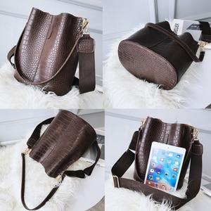 Image 3 - Crocodile PU Leather Handbag For Women Lady Crossbody Over Shoulder Bag Top Brand Luxury Designer Bag feminina totes sac a main