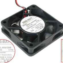 NMB-MAT 2406KL-04W-B49 T14 DC 12V 0.17A 60x60x15 мм вентилятор охлаждения сервера