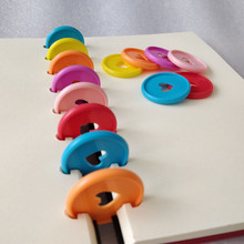 Binding-Tray Disc Office-Binding-Supplies Notebook-Loose-Leaf Plastic 35mm-Color Learning