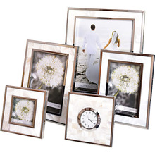 European Wal Photo Frame Retro Picture Frames Wall Wood Christmas Cadre Wedding Paintings 50W21