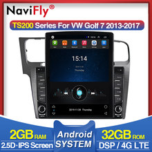"4G IPS DSP 9.7"" Android Car Radio Multimedia Player For VW Volkswagen Golf 7 Autoradio GPS Navigation Tape Recorder Head Unit BT(China)"