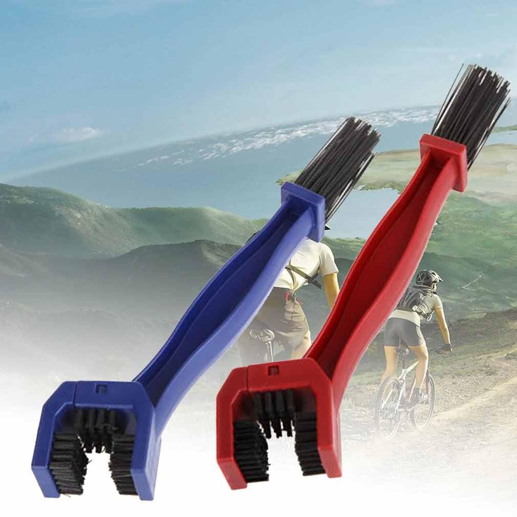 Fiets Chain Cleaner Bike Clean Machine Borstels Scrubber Wash Tool Mountain Fietsen Cleaning Kit Outdoor Sport