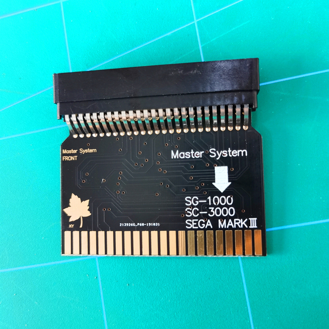 SMS2SG1000 Sega Master Hệ Thống Sega MARK III (Phiên Bản Tiếng Nhật) SG 1000 SC 3000 Adapter SMS Adapter