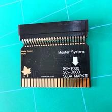 SMS2SG1000 Sega Master System to Sega MARK III (Japanese Version) SG 1000 SC 3000 Adapter SMS Adapter