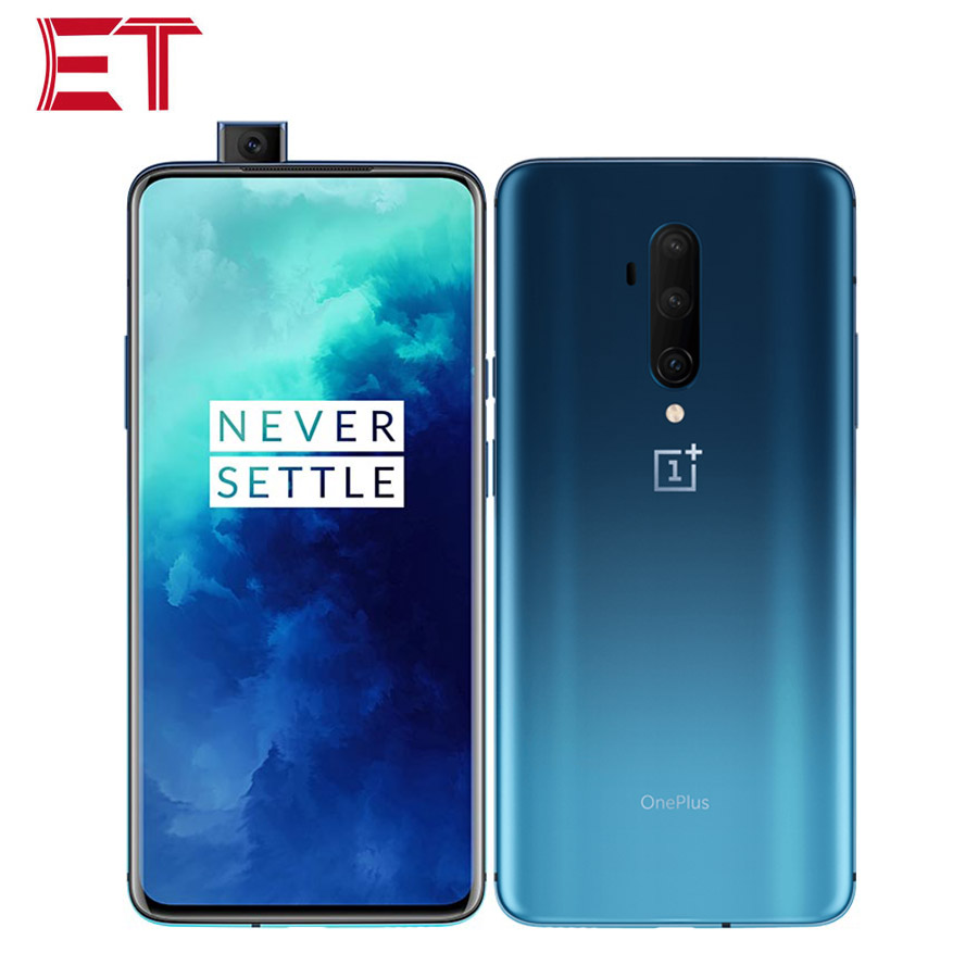 """2019New Oneplus 7T Pro 4G LTE Mobile Phone 48MP 6.67"""" 8GB RAM 256GB ROM Snapdragon855+ 3120X1440p Pop-up Camera Android 10.0 NFC"""