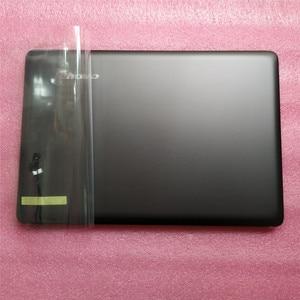 Новый Oirg Lenovo Ideapad U410 Lcd задняя крышка задняя верхняя крышка 3CLZ8LCLV30 серый не сенсорный