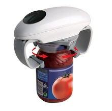 Abridor de tarros eléctrico de un solo toque, herramientas de cocina, portátil, ajustable, automático, utensilios de cocina