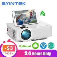 BYINTEK SKY BT140/BT140plus/BT140android Mini LED Projektor HD Home Theater (Optional: wireless display für Iphone Smartphone)