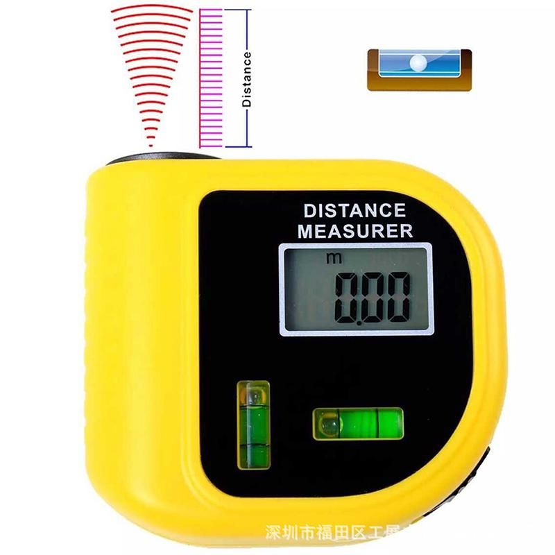HobbyLane Handheld LCD 1Pc CP3010 Laser Rangefinders Ultrasonic Distance Measurer Meter Range Finder Arrival Feet