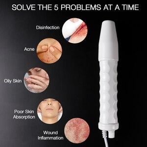 Image 3 - 고주파 얼굴 기계 전극 유리 튜브 Electrotherapy 여드름 항 염증성 피부 강화 주름 스파 살롱 홈