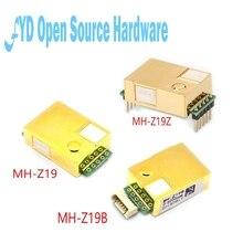 1 adet MH Z19 NDIR CO2 Sensörü Modülü kızılötesi co2 sensörü 0 5000ppm