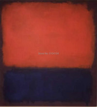 Hand Painted Mark Rothko Abstract American Style Oil Painting Canvas Unframed straw art Home decor gift on the wall