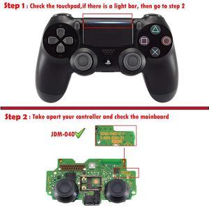 Image 5 - Chrome Plating Rood Voor Shell Golden Cover Case Voor PS4 Pro Jdm 040 Jds 040 Playstation 4 Pro V2 gen 2 Controller Vervangen
