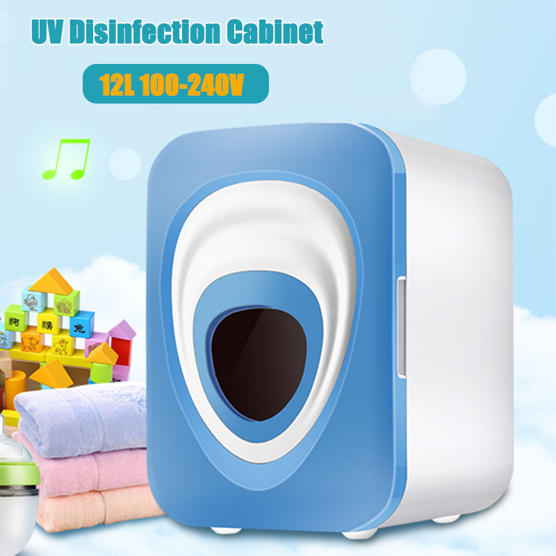 Infant Baby Bottle Sterilizer With Multi-function Sterilizer 12L For Baking Ultraviolet Disinfection Cabinet Machine Dryer Box