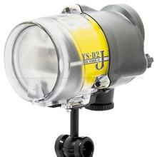 نيت الغوص مضيا البحر والبحر YS D2J ستروب ل RX100 TG5 DSLR كاميرا تحت الماء التصوير الملحقات مقاوم للماء 100 متر