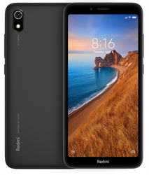 Xiaomi Redmi 7a 13,8 см (5,45 дюйма), 2 ГБ 16 ГБ, две SIM-карты, черный, 4000 мАч