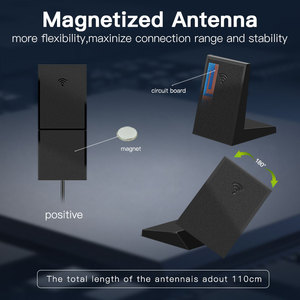 Image 5 - Masaüstü 2400Mbps PCI E Dual Band WiFi kablosuz adaptör Bluetooth 5.0 Wi Fi 6 kart AX200NGW/802 11AC/AX manyetik antenler