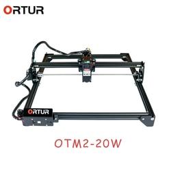 Máquina cortadora de grabado láser ORTUR Laser Master 2 con placa base de 32 bits 7w 15w 20w, enrutador CNC para impresora láser