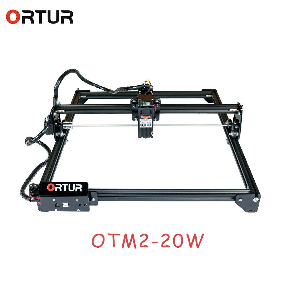 ORTUR Laser Master 2 лазерный гравировальный станок для резки с 32-битной материнской платой 7 Вт 15 Вт 20 Вт Лазерный принтер фрезерный станок с ЧПУ
