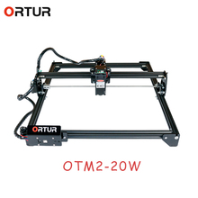 ORTUR Laser Master 2 macchina per incisione Laser con scheda madre a 32 Bit 7w 15w 20w stampante Laser Router di CNC incisore Laser