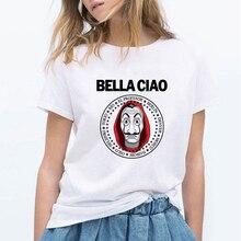 Money Heis Fashion BELLA CIAO T-Shirt Cute Kawaii La Casa De