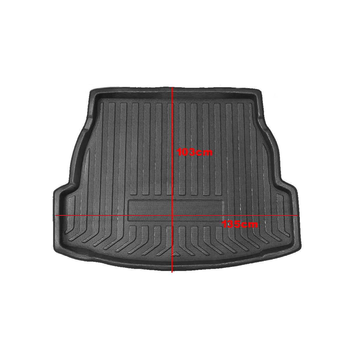 lowest price For Toyota RAV4 2019  Car Rear Trunk Boot Liner Cargo Mat Luggage Tray Floor Carpet Mud Protector Replacement Car Accessories