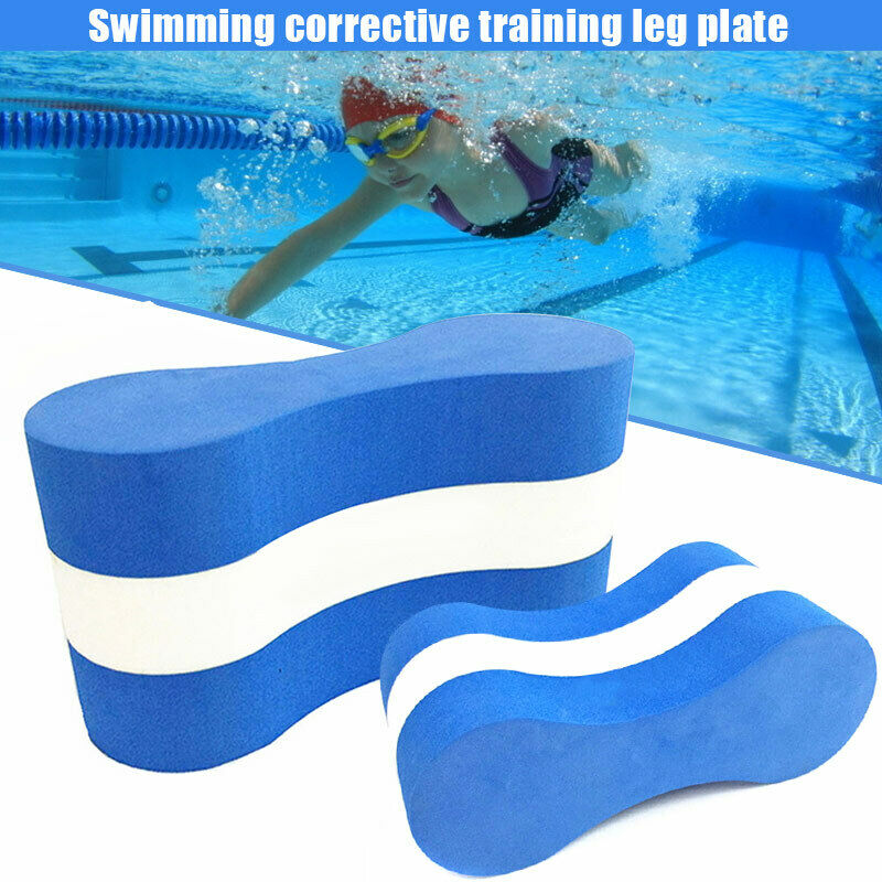Summer Waterproof Foam Pull Buoy Float Kick Board Kids Adults Pool Swimming Safety Training Aid Anti-vibration Soundproof 1pc