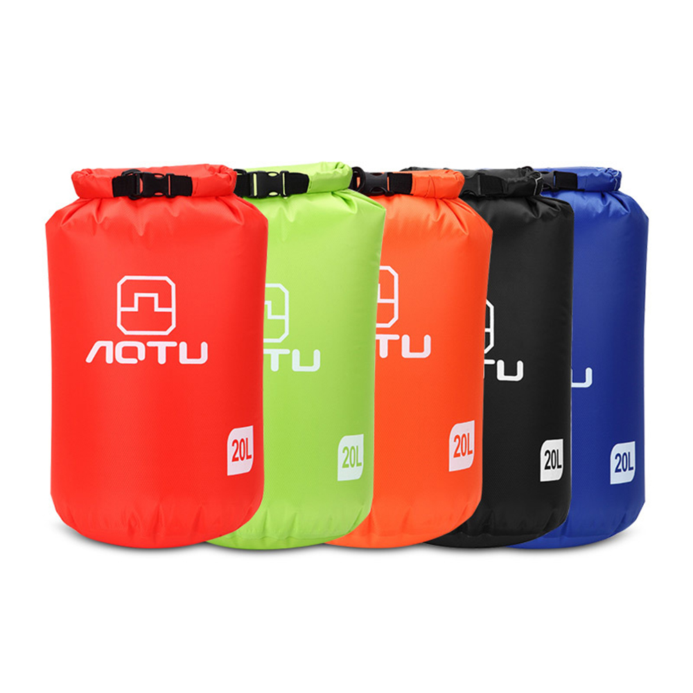 Ultralight Water-proof Dry Bag 20L Dry Compression Sack with Water-proof Phone Case for Kayaking Camping Fishing Surfing Rafting