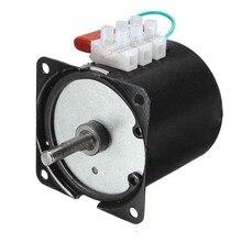 220 240 V/14 w/2.5 rpm 100 rpm düşük gürültü şanzıman elektrik motoru 50HZ 60HZ yüksek tork düşük hız AC senkron motor 60KTYZ