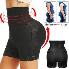 Womens Butt and Hip Enhancer Booty Padded Underwear Panties Body Shaper Seamless Butt Lifter Panty Boyshorts Shapewear