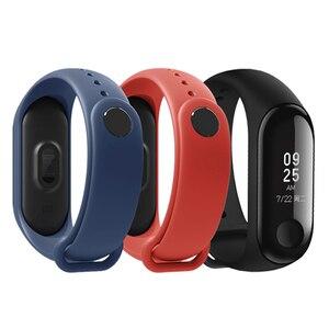 Image 4 - Xiaomi MiBand 3 Mi band 3 Fitness Tracker pulsometr 0.78 wyświetlacz OLED Bluetooth 4.2 dla androida IOS