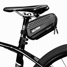 Bicycle Tail Bag Hard Case Saddle Bag Mountain Bike Road Bag Rainproof Bike Tail Rear Bag Riding Equipment Cycling Accessories rockbros tool bicycle bag rainproof cycling riding bike bag portable mtb road bike water bottle cycling bag bike accessories