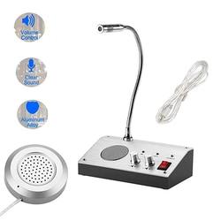 Dual Channel Intercom external speaker 100Hz 15KHz 110 240V Window counter intercom speaker system bank office hospital store