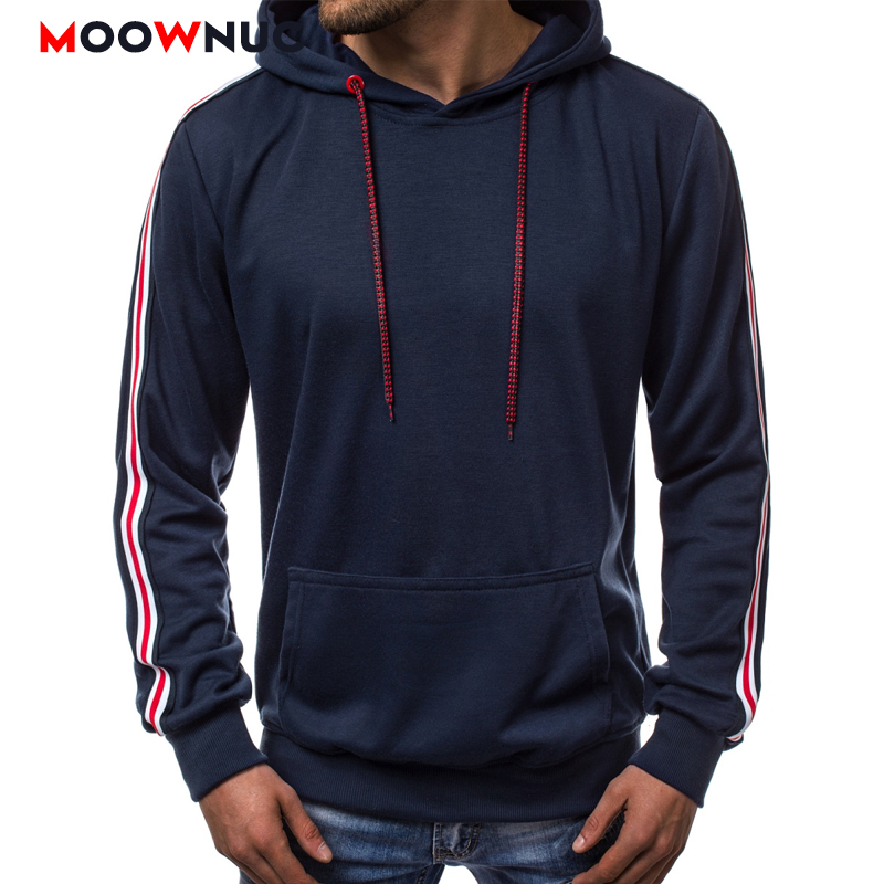 Autumn Streetwears Men's Hoodies Pullover Hat Solid Hombre Casual Hip-Hop Slim Street Dress Fashion Hoodeds Trendsetters Jogge