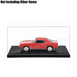 Image 4 - Odoria  (19.5x8.5x8.5 cm) Acrylic Display 2 Steps Case/Box Perspex ShowCase Dustproof For Model Cars Action Figures Collectibles