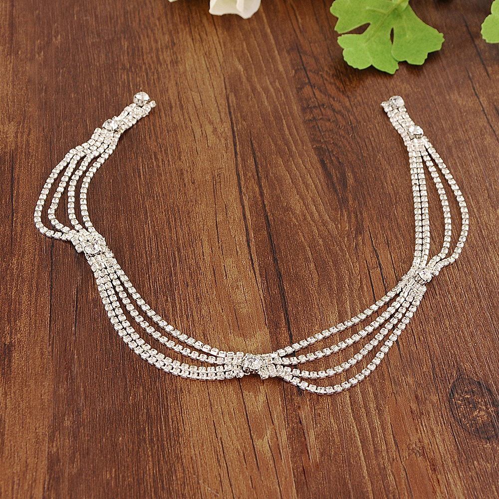 TRiXY S390 Crystal Rhinestone Wedding Belts Crystal Wedding Dress Belt Sashes Wedding Accessories Bridal Sash Belt